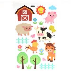 deco wall stickers farm hobbycraft vinyl wall decals farm set tree with