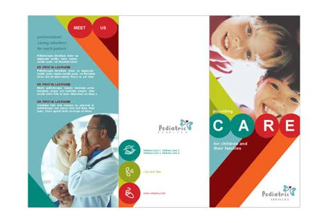 7 best images of pediatric brochure text pediatric