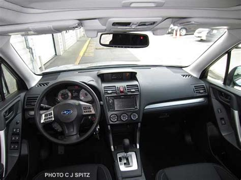 subaru forester interior 2015 2015 subaru forester interior photos
