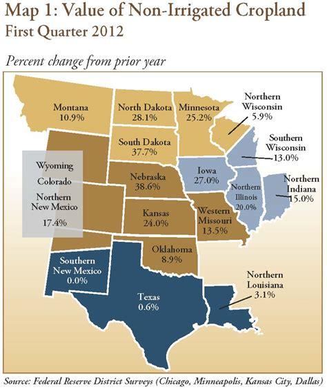 will the 2012 u s drought burst the farmland property