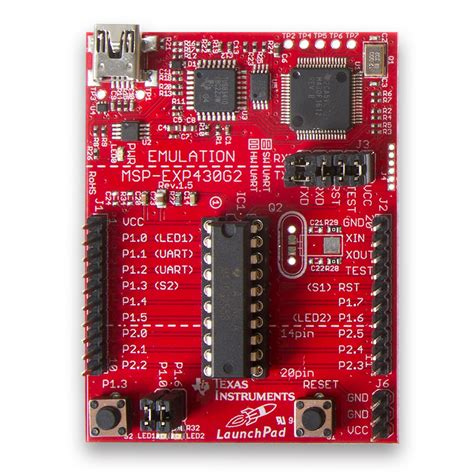 Msp430 Launchpad Msp Exp430g2 Rev15 msp430g2553 launchpad msp exp430g2