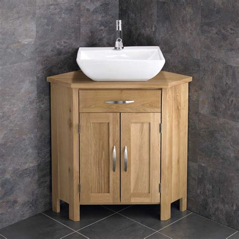Corner Bathroom Vanity Units Corner Freestanding Cabinet Bathroom Vanity Unit 78cm Wide Ceramic Sink Basin Ebay
