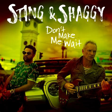 shaggy testo sting shaggy don t make me wait testo