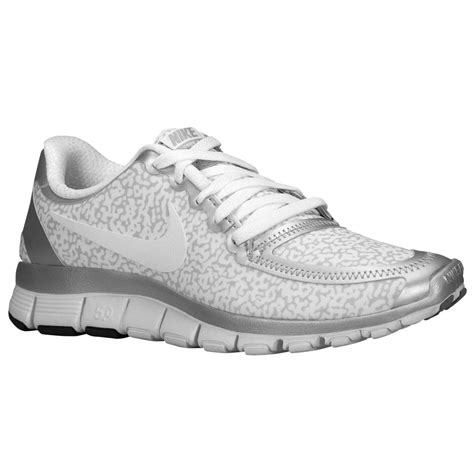 Nike Free 5 0 V4 find genuine nike free 5 0 v4 womens white white metallic