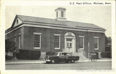 Whitman Post Office by U S Post Office Whitman Ma