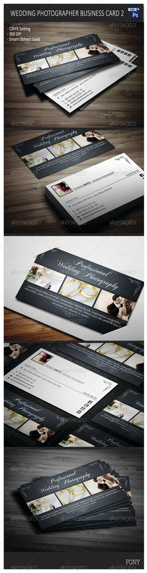 graphicriver wedding photography business card template wedding photographer business card 2 graphicriver