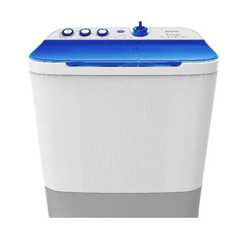 Mesin Cuci Sharp Washer Tub jual sharp es t971dm bl tub blue cover washing