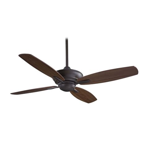Ceiling Fan Without Light In Bronze Finish F513 Orb Ceiling Fan Without Lights
