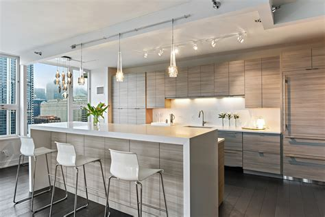 Design Kitchen Chicago by Stone City Design Modern West Loop Condo Stone City