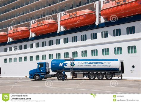 ship fuel cruise ship fuel editorial photography image of cruising