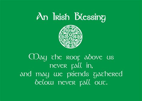 printable irish quotes print of quote irish blessing st by softlyspokendesigns on