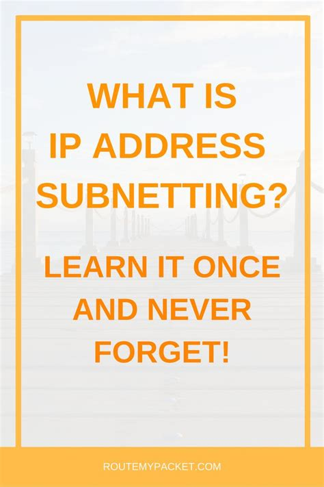 network tutorial ip subnetting tips and tricks the 25 best computer network security ideas on pinterest
