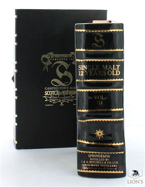 whiskey secrets whiskey and lies volume 1 books springbank 12 years ceramic book vol 3 one of the