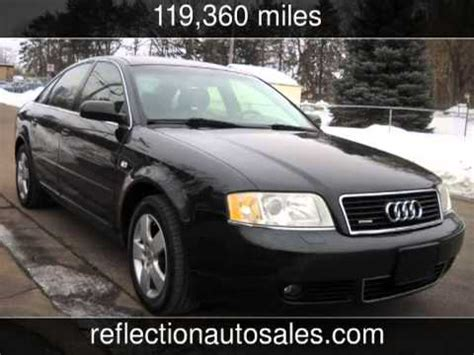 how cars work for dummies 2002 audi a6 security system 2002 audi a6 3 0 quattro used cars oakdale minnesota youtube