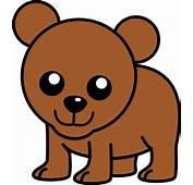 Baby Cartoon Bear Clip Art At Clkercom  Vector Online