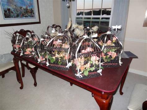Home Decor Bird Cage by Diy Birdcage Centerpieces Pic Heavy Weddingbee