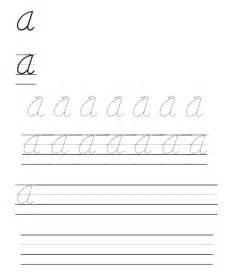 d nealian cursive letter handwriting workbook sample