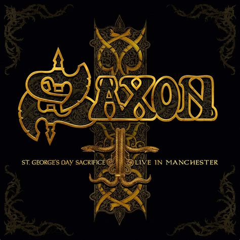 s day live review saxon st george s day sacrifice live in