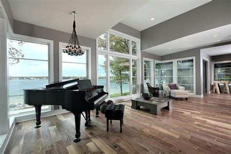 modern family living room house living room piano modern home design meets west coast aesthetic with an asian influence