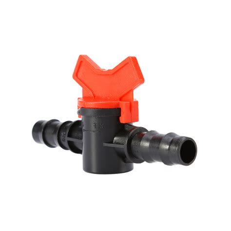 Teplon Pvc Valve garden tap convenient coupling pipe irrigation 2 way water hose switch plastic valve switch