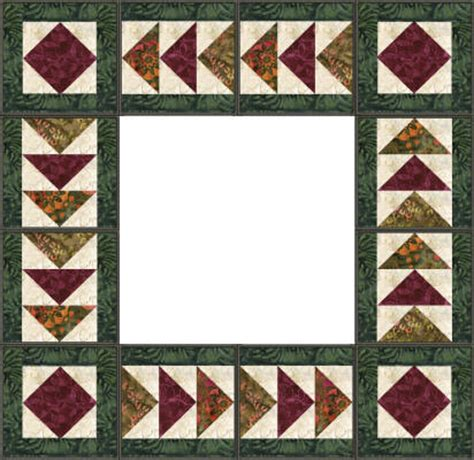 Border Quilt Patterns by Chantell S Creations Designs Qprojects