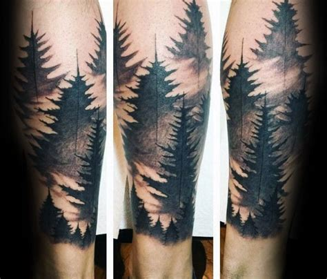 watercolor tree tattoo sleeve 100 forest designs for masculine tree ink