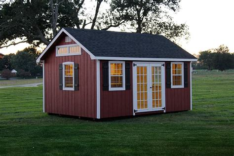 Backyard Buildings Photo Gallery Of The Lancaster Style Shed From Overholt In