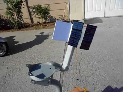 home built solar system home made solar tracking system with no electronics for solar panel or solar oven