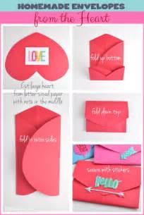 Pocket Fold Envelopes Homemade Envelopes From The Heart Me Amp My Big Ideas