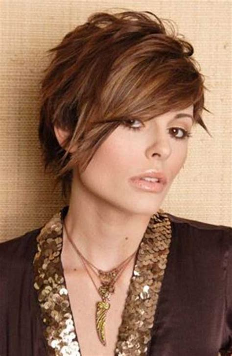 best highlights for pixie dark brown hair 30 pixie hair color styles pixie cut 2015