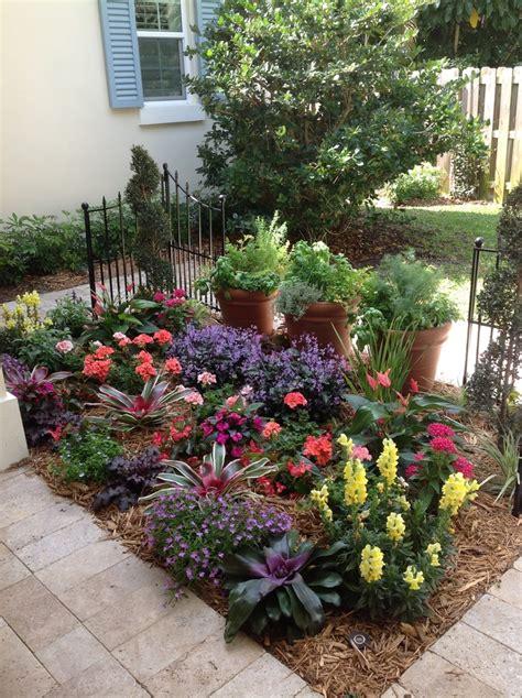 cottage garden pots cottage garden with herb pots botanical concepts
