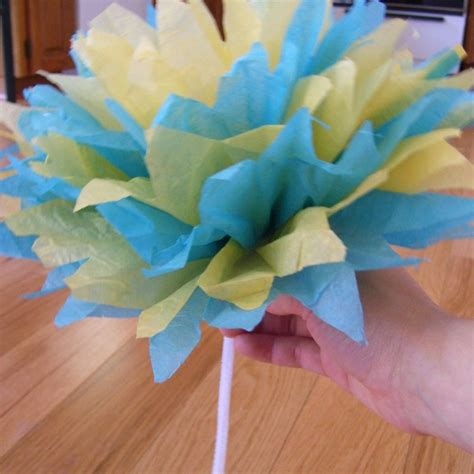 Tissue Paper Crafts - tissue paper flower craft ideas and tutorials