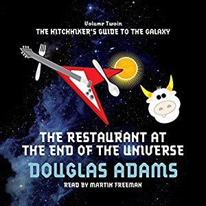 the restaurant at the end of the universe the restaurant at the end of the universe audiobook