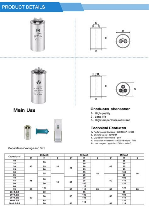 where can i buy an air conditioner capacitor near me air conditioner compressor capacitor 40uf 45uf 50uf 55uf