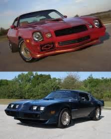 Pontiac Vs Chevrolet This Or That 1979 Chevy Camaro Z28 Versus 1979 Pontiac Fi