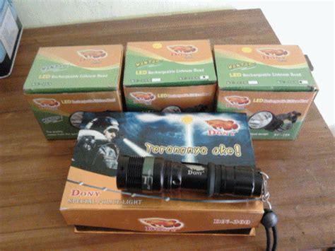 Senter Dony 8 Watt perlengkapan berburu produk senter dony