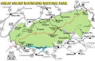 mountains map newfound gap smoky mountains gatlinburg jeep rentals