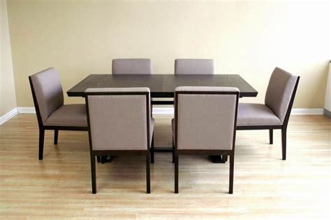 modern dining table and chairs set modern extendable wooden furniture dining set modern