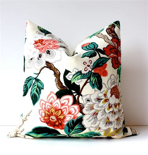 chinoiserie flower decorative pillows best bed rest six spring fashion trends to try at home this year home