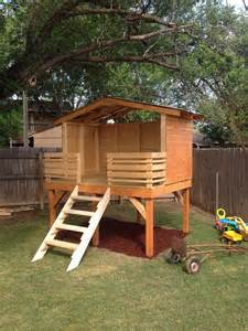 Backyard Fort Plans by Best 10 Backyard Fort Ideas On Tree House