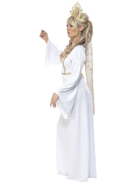 elegant angel adult costume buy online at funidelia