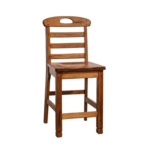 ladderback bar stools sunny designs sedona 24 quot ladder back counter stool in