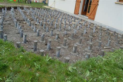 terrasse pvc nivrem terrasse bois plot pvc terre diverses id 233 es