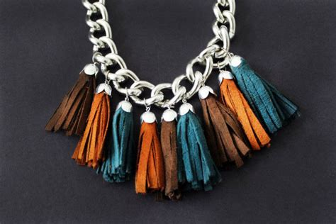 Bangle Tassel Simple Rock Chic Raebfb 40 gorgeous diy necklaces brit co