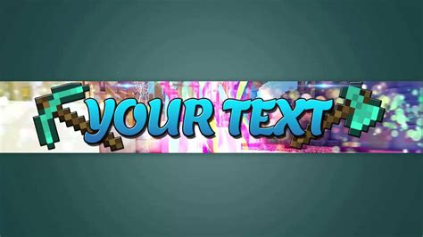 minecraft banner template free hd minecraft channel banner template 2