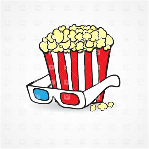 film cartoon food free clipart of popcorn cliparts co