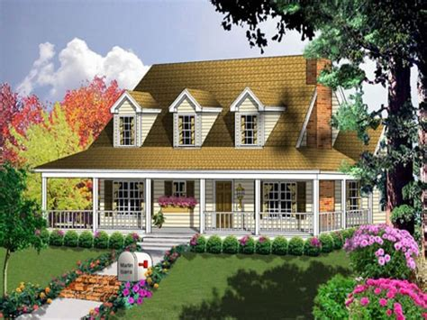Farmhouse Plans With Porches by Farmhouse Floor Plans Farmhouse House Plans With