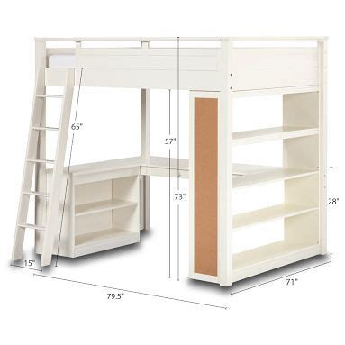 full size loft bed with desk and storage full size loft bed with storage and desk for a building