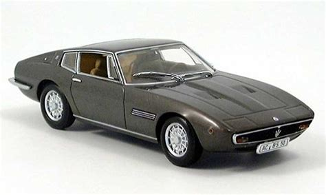 maserati brown maserati ghibli coupe brown 1972 minichs diecast model