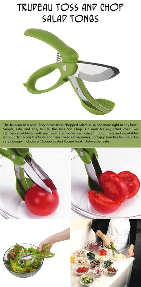 amazon com trudeau toss and chop salad tongs salad simple kitchen gadgets that are borderline genius 10 pics